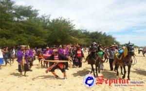 Pengunjung Pantai Lombang Tembus 18 Ribu