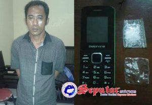 Jual Sabu seberat 1 gram Samsul Arifin Masuk Penjara Polres Sumenep